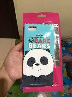 Miniso Panda Case Iphone 6 Plus