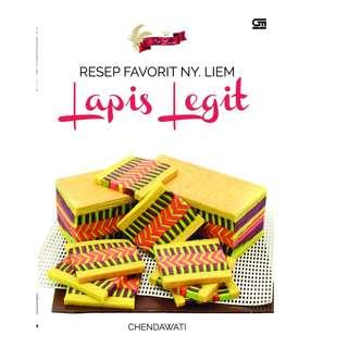 Ebook Resep Favorit Ny. Liem Lapis Legit - Chendawati
