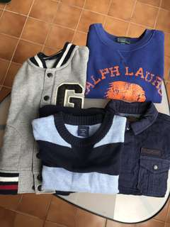 BOY's SWEATER & KNIT WEAR