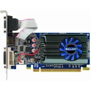 影馳 GALAX GT610 2GB DDR3 PCI-E 顯示卡、GT610晶片、2GB、CP值高的入門卡、拆機良品