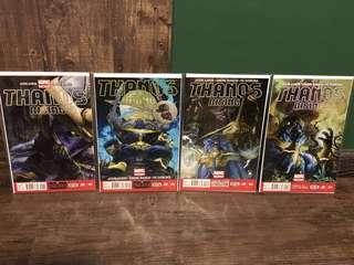 Thanos Rising #1-4