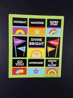 [INSTOCK] BN Celebrate Learning Reward/Merit Stickers (Carson Dellosa)