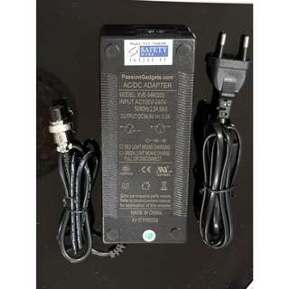 Scooter Ebike battery charger 48V ---- Singapore Safety Mark Certified