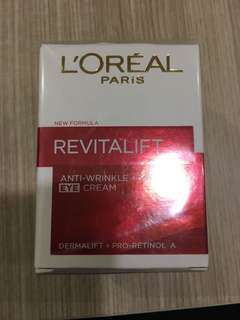 L'Oréal eye cream