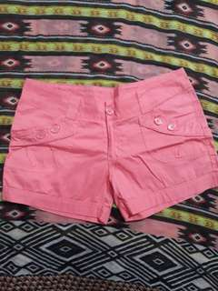 Pink Short Shorts
