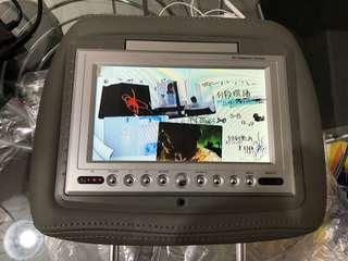 7 inch grey headrest monitor