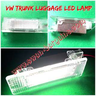Plug n Play Volkswagen Ultra-Bright Error-free Crystal White LED Rear Trunk Boot Luggage Compartment Lamp Replacement Light Modules Set VW Golf Polo Jetta MK4 MK5 MK6 Scirocco Passat CC Tiguan Touran Error-free 6000K