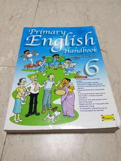 Primary 6 english handbook with answers