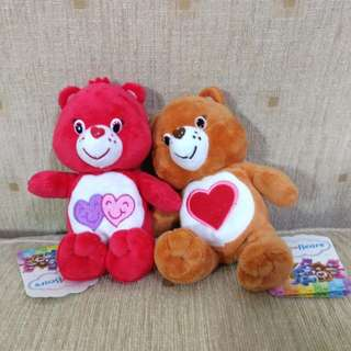 Care bear soft toy 6 inches NEW