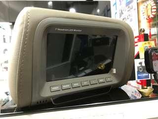 Brand new 7 inch headrest monitor (pair )