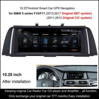 BMW  5 Series 2011-2017 10.25 Inch Android System