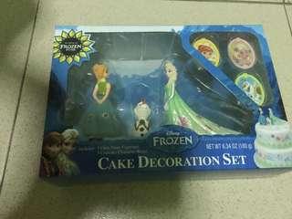 Disney Frozen Cake Decoration Set