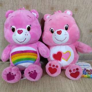 Care bear soft toys 9 inches NEW