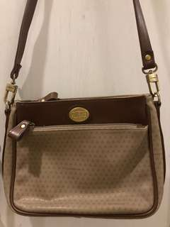 Liz Claiborne Brown Crossbody