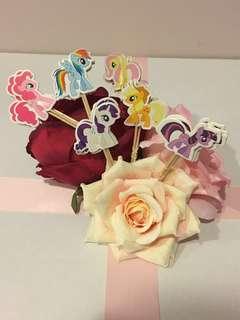 Little Pony Cake Topper