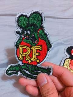 🚚 Rat fink 電繡 徽章