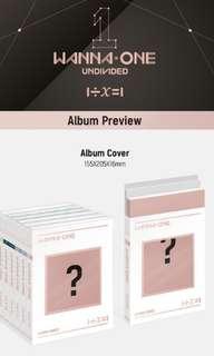 [PO] Wanna One 4th Album: 1÷x=1 UNDIVIDED