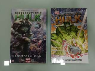 Indestructible Hulk, Agent of Shield TPB, 1 & 2