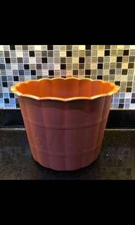 pot bunga plastik 35 cm
