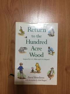 winnie the pooh bear return to the hundred acre wood