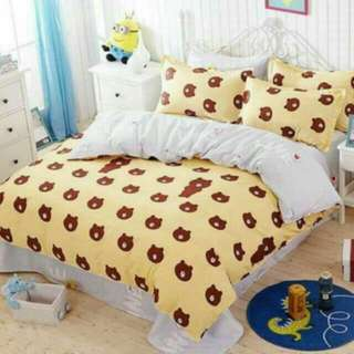 FREE POS Ready Stock Comforter Bedsheet Set 6 In 1 #list4sbux