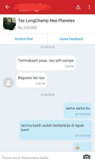 Testimoni Customer kami