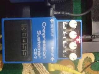 Boss cs 3 compressor sustainer mit