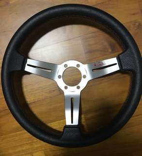 Semi Deep Dish Steering Wheel