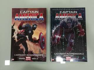 Captain America, Castaway In Dimension Z TPB, 1 & 2