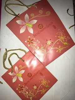 Paper bag set bengawansolo
