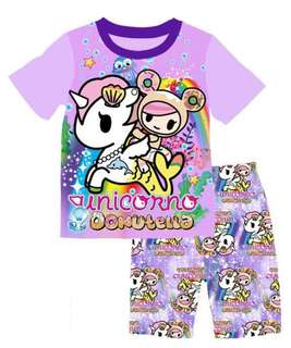 Unicorn / TokiToki & Hello Kitty pyjamas