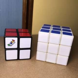 2x2 and 3x3 Rubix Cubes