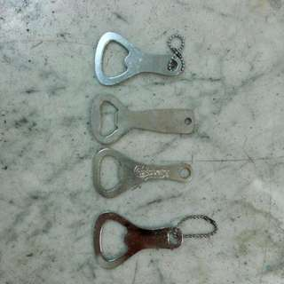 4 Bottle Opener Keychain