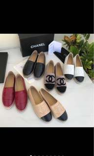 Channel shoes