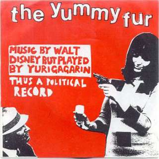 The Yummy Fur - Music By Walt Disney But Played By Yuri Gagarin Thus A Political Record - VERY RARE