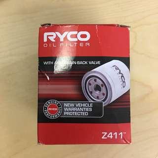 Ryco Oil Filter Z411