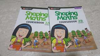 P2 Shaping Maths Coursebook 2A & 2B 3rd Edition