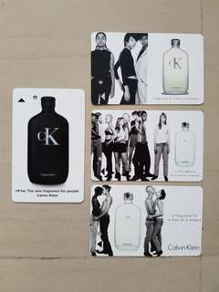 Calvin Klein Transitlink Cards