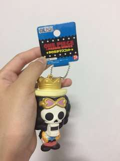 ☁️#6 one piece brook character mascot squishy