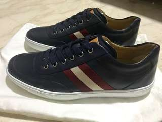 Brand new navy blue Bally Sneakers