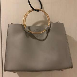 CMG Gray Crossbody