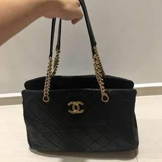 Cheapest Authentic Chanel Cruise CC Crown Tote Bag
