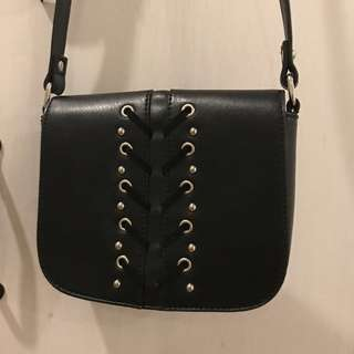 Nine West Black Small Crossbody
