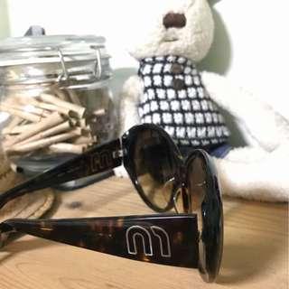 🕶 Authentic Miu Miu Tinted Sunglasses in Brown