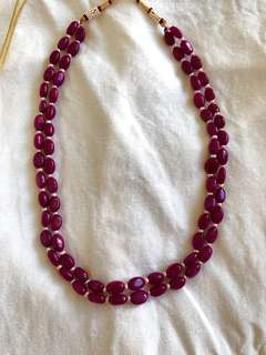 Rubelite Necklace