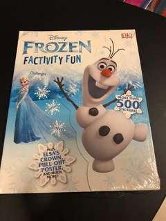 Frozen factivity fun book with 500+ sticker