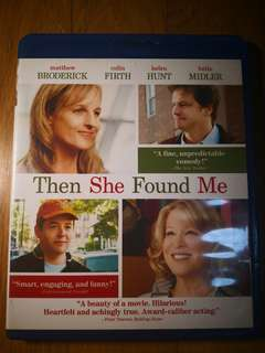 Then She Found Me Blu-ray