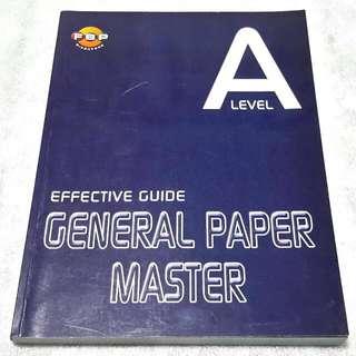 General Paper 'A' Level