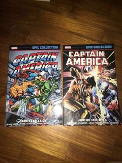Marvel EPIC COLLECTION  Captain America