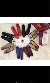 Tory burch flat shoes mirror